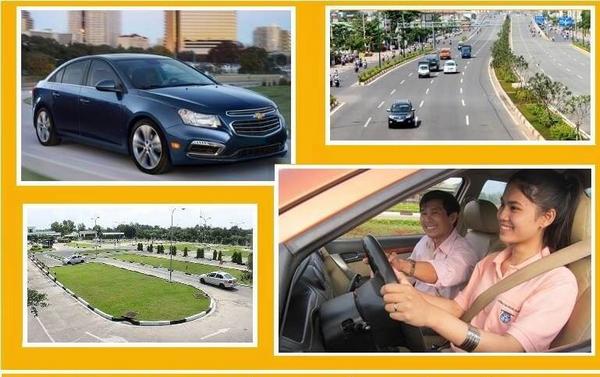 bảng giá học lái xe ô tô tại quận thanh xuân
