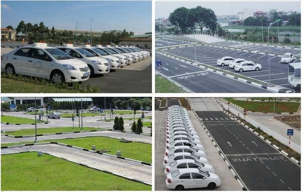 học lái xe ô tô tại trung tâm Hà Nội